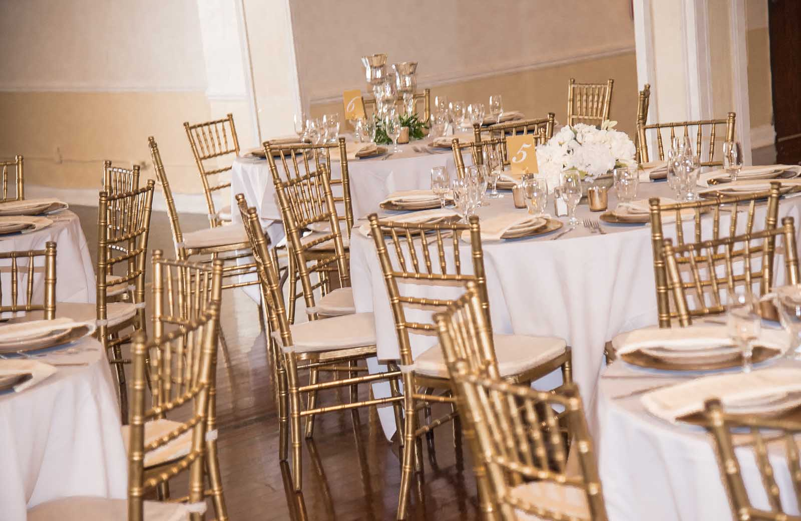 The Lafayette Grande love their Chivari Chairs.-pictures